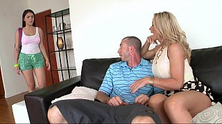 Jordan, cute foreign exchange student and sexy Milf