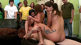 Dorm Invasion surprise sex party
