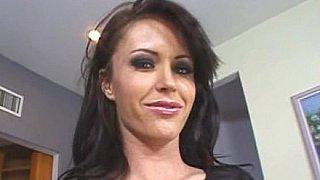 Brunette bitch Jenna Presley fucking & squirting