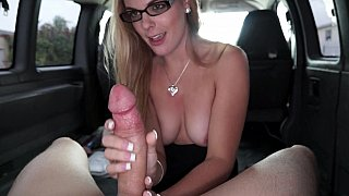 College chick gets pounded in our bus