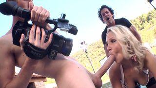 Samantha Shooting Some Porn HQ Mp4 XXX Video