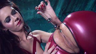 Finger masturbation video