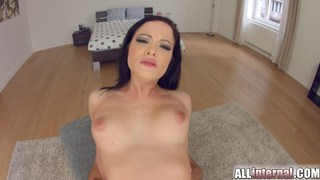 All internal her first ever vaginal creampie