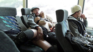Bonnie Rotten sucks cocks and gets fingered on a bus