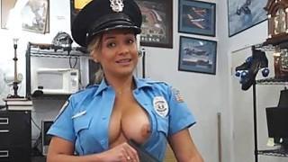 Excited cops sucking penises