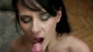 Nice young brunette getting fucked in POV
