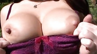 Agreeable twat drilling for a busty darling