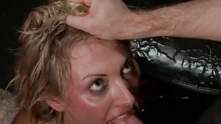 Horny harlots are having fun serving their slits