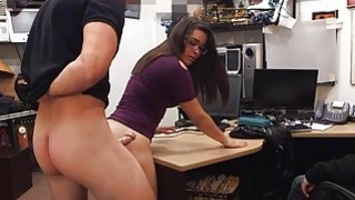 Couple girls trying to steal at the pawnshop and get fucked