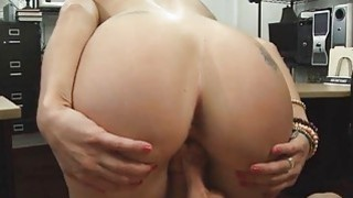 Horny sweet babe having her pussy drilled