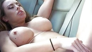 Big tits Corinna Blake banged in the car