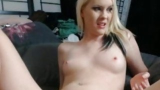 Amateur blondie Fucked By SexMachine On Webcam
