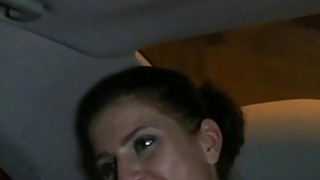 Czech amateur gets pounded in fake taxi