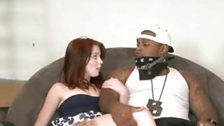 Teen babe Jessi Palmer ass fucked by many black dicks