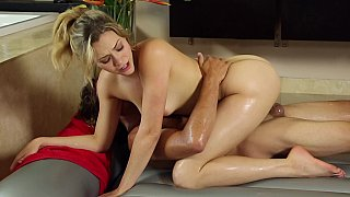 Complete takedown of cock missing wet vagina