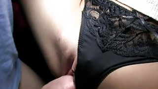 Shlong engulfing with raucous pussy pounding