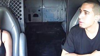 Taken Teen Ashley Sucking Long Schlong In Van