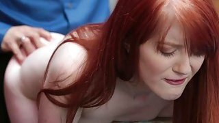 Chrystal Orchids pussy fuck from behind