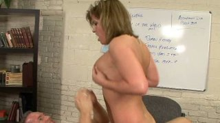 Hot fucking scene in reader's room