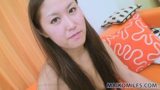 Vibrator helps Nagisa Fukushima to while away time