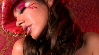 Pretty Blonde Teen Zoey Paige Sucks The Dildo And Masturbates On A