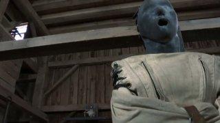 Psych Mei Mara is tormented wearing restraint jacket