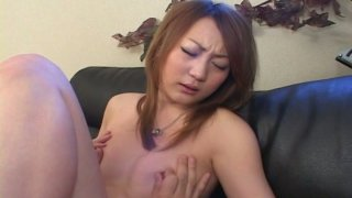 Happy boyfriend of Mao Hyuga likes her sweet trimmed pussy