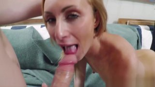 Hollie Shields in her first sextape
