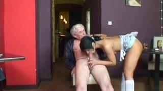Unearthly Dana DeArmond in fetish porn video