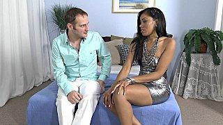Being seduced by a black MILF