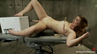 So new She Squeaks More than The Machines: Shagging an Amateur